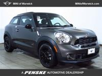AWD! Turbocharged! This terrific 2014 Mini Cooper S is