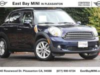 Options:  2014 Mini Cooper Countryman|Cosmic Blue