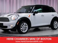 ONLY 26,936 Miles! Countryman trim. iPod/MP3 Input,