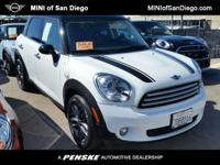 This super low mileage MINI Certified is a one owner