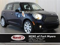 This 2014 MINI Cooper Countryman comes well-equipped