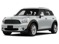 MINI Certified, CARFAX 1-Owner, GREAT MILES 25,698!