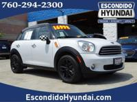 CARFAX One-Owner. Clean CARFAX. Light White 2014 MINI