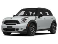 CARFAX 1-Owner, MINI Certified, ONLY 29,862 Miles!