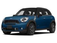 MINI Certified, CARFAX 1-Owner, LOW MILES - 33,570! S
