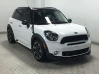 EPA 31 MPG Hwy/25 MPG City! MINI Certified, ONLY 28,559