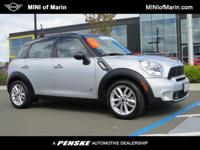 MINI Certified and AWD. Turbocharged! Gasoline! Don't