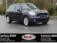 Scores 31 Highway MPG and 25 City MPG! This MINI Cooper