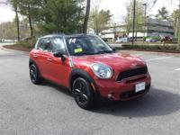 2014 MINI Cooper S Countryman ALL4  in Blazing Red