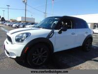Come see this 2014 MINI Cooper Countryman S. Its