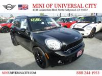 NEW ARRIVAL! MINI of Universal City proudly offers this