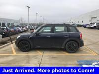 2014 Mini Cooper S Countryman FWD 6-Speed Automatic