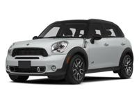 Absolutely stunning, this 2014 MINI Cooper Countryman S
