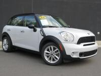 **2014 MINI COUNTRYMAN S**6 SPEED MANUAL**VERY LOW