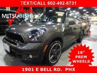 ** COUNTRYMAN HB ** 'S' TURBO ** SPORT PKG ** ONLY 28K