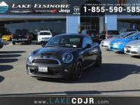 This 2014 MINI Cooper Coupe S is proudly offered by