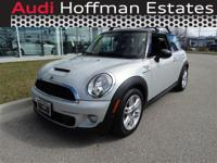 Absolutely stunning, this 2014 MINI Cooper Coupe S
