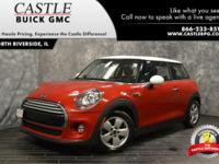 Recent Arrival! 2014 MINI Cooper FWD 6-Speed Manual