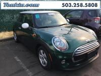 WOW!!! Check out this. 2014 MINI Cooper 1.5L 12V