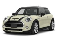*LOW MILES! *MOONROOF! *MINI CERTIFIED PRE-OWNED! This
