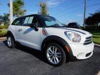This 2014 MINI Paceman is featured in White .  ***Great