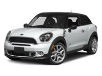 This 2014 MINI Cooper Paceman S is offered to you for