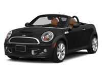 Absolutely stunning, this 2014 MINI Cooper Roadster 2DR