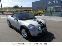*Call Now! . *Our One Owner 2014 Mini Cooper Roadster S