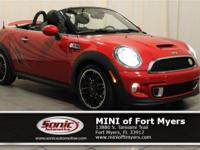 This 2014 MINI Cooper Roadster S comes well-equipped
