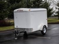 THIS IS A NEW 5X8 MODEL # MXPO58SA ENCLOSED TRAILER #