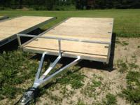 2014 Mission Trailers 7' x 14' Aluminum NICE ATV