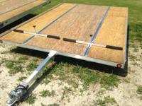 "2014 Mission Trailers MFS 101"" x 12' Duralite DON'T"