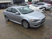 This 2014 Mitsubishi Lancer ES is offered to you for