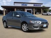 Gray used 2014 Mitsubishi Lancer ES sedan, FWD, 5-Speed