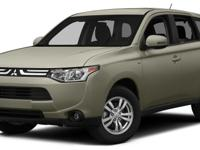 The Mitsubishi Outlander has been redesigned for 2014,