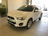 CARFAX One-Owner. White 2014 Mitsubishi Outlander Sport