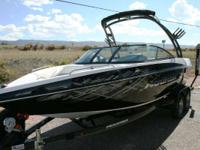 This Moomba is packed with the wake riding tools you