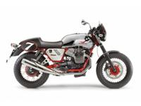 The Moto Guzzi V7 Racer offers the timeless design of