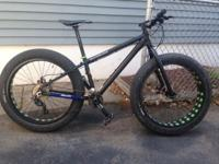 2014 Motobecane Fantom Comp fat bike size small for