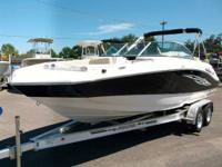 2014 NauticStar 223DC Powered by Yamaha 200hp four