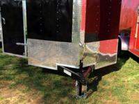 New 2014 Enclosed Trailer 7x12 V nose, 5 years