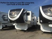 The new 2014 Big Horn 3685RL Fifth wheel has one of the