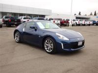Options:  2014 Nissan 370Z 2Dr Cpe Mt Used|Blue Manual