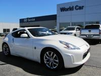 Excellent Condition, CARFAX 1-Owner. 370Z trim, Pearl