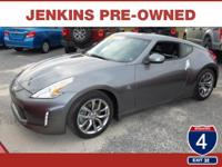 This Nissan 370Z is Certified Preowned! CARFAX 1-Owner!