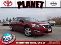 Recent Arrival! New Price! 2014 Nissan Altima 2.5 Red