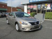 CARFAX One-Owner. Clean CARFAX. Gray 2014 Nissan Altima