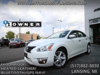 Options:  2014 Nissan Altima Sl Tech|Heated Leather