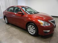 2014 Nissan Altima Cayenne Red Metallic 2.5 S CVT with