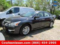 Altima 2.5 SV, Nissan Certified, 4D Sedan, CVT with